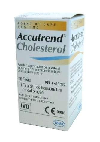 Teste Accutrend colesterol