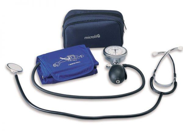 Tensiometru mecanic cu stetoscop Microlife AG1-40