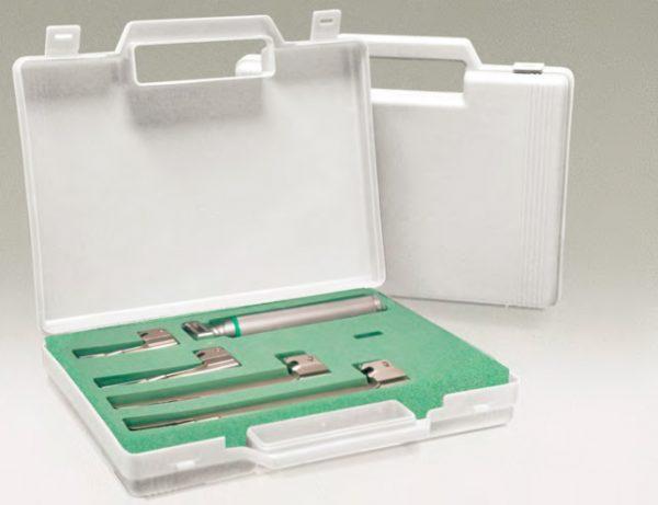 Set laringoscop MILLER fibra optica