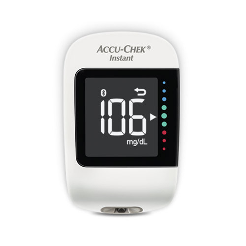 Aparat de glicemie Accu-Chek Instant + 10 teste