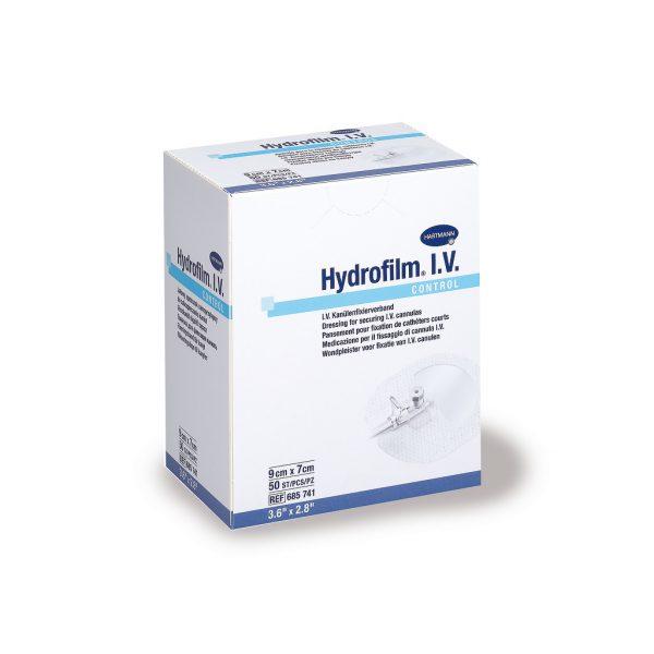 Plasture fixare branula Hydrofilm I.V. Control